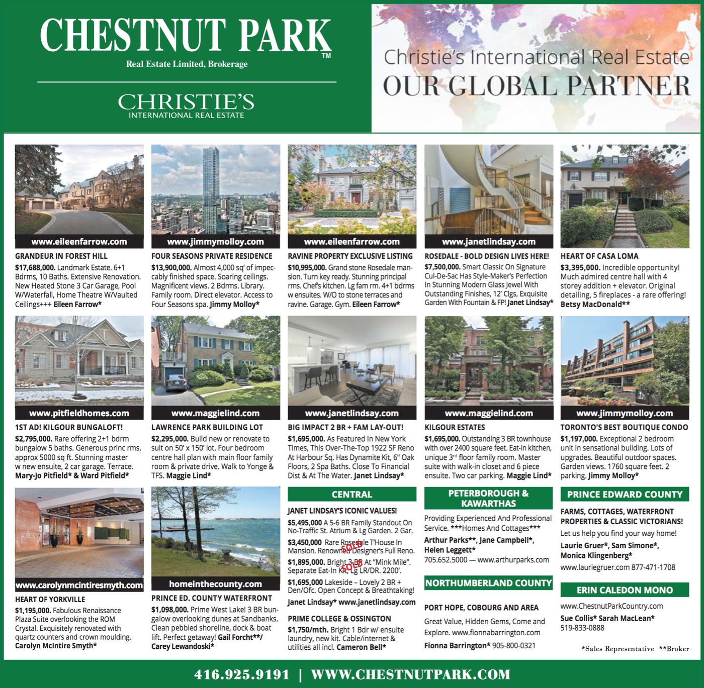 Chestnut Park In Print | Week of February 9th - Debbie Penzo